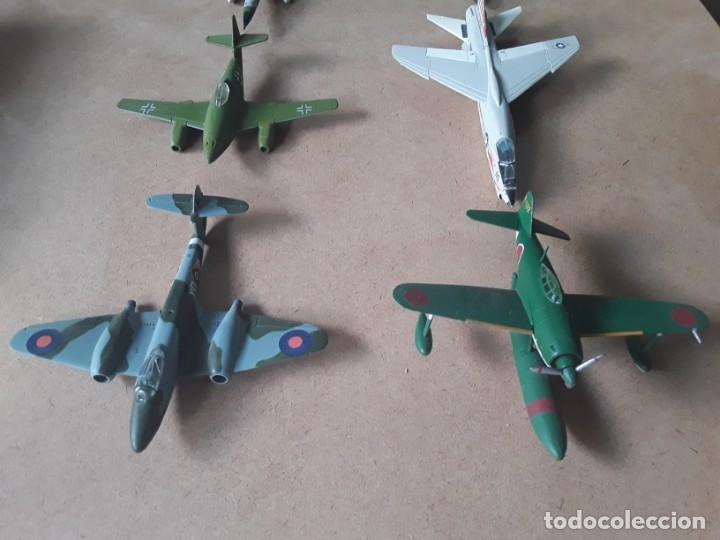 Maquetas: Lote de 8 maquetas de aviones escala 1/100 - Foto 2 - 205585813