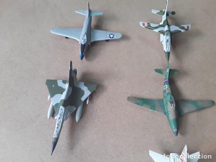 Maquetas: Lote de 8 maquetas de aviones escala 1/100 - Foto 3 - 205585813