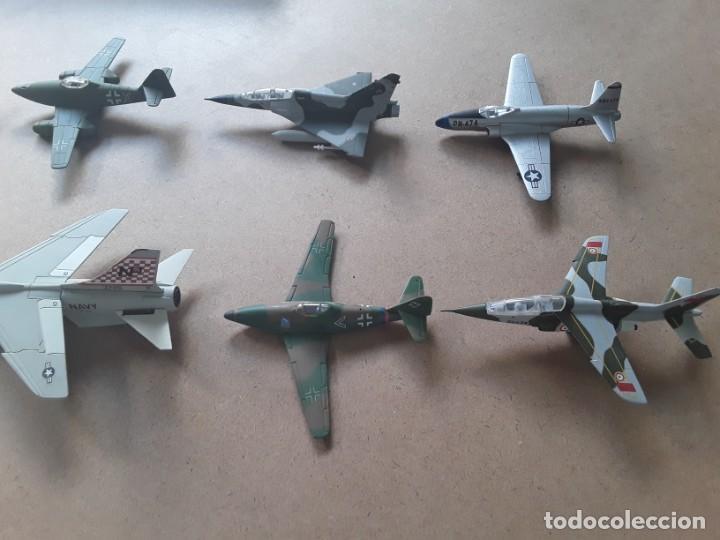 Maquetas: Lote de 8 maquetas de aviones escala 1/100 - Foto 4 - 205585813