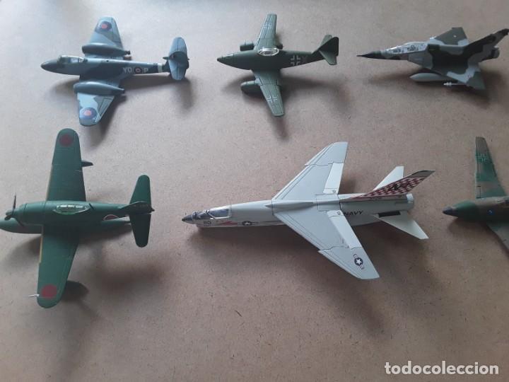 Maquetas: Lote de 8 maquetas de aviones escala 1/100 - Foto 5 - 205585813