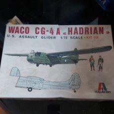 Maquetas: ITALAEREI 1/72 WACO CG-4 A HADRIAN. Lote 205669977