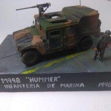 Maquetas: DIORAMA-MAQUETA HUMMER M 998 IFANTERIA DE MARINA ESPAÑOLA -AÑO 1998. Lote 205711347