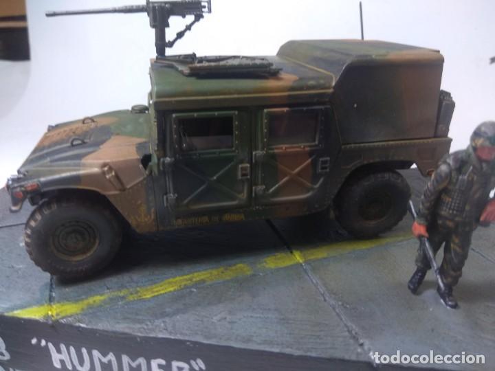 Maquetas: DIORAMA-MAQUETA HUMMER M 998 IFANTERIA DE MARINA ESPAÑOLA -AÑO 1998 - Foto 3 - 205711347