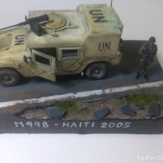 Maquetas: DIORAMA MAQUETA- HUMMER-M 998-INFANTERIA DE MARINA ESPAÑOLA-HAITI 2005. Lote 205712216