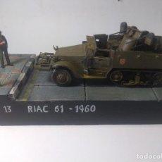 Maquetas: DIORAMA MAQUETA-SEMIORUGA-M13 EJERCITO ESPAÑOL AÑO 1960. Lote 205712585