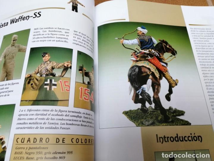 Maquetas: LIBRO DE MODELISMO -EUROMODELISMO PINTADO DE FIGURAS - Foto 5 - 205742028