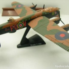 Maquetas: DOS AVIONES AVRO DE LA RAF. Lote 205847465