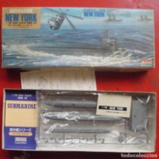 Maquetas: USS NEW YORK SUBMARINO NORTEAMERICANO. ARII ESCALA 1/700. MODELO NUEVO. Lote 205873367