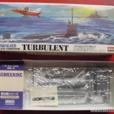 Maquetas: HMS TURBULENT SUBMARINO BRITÁNICO. ARII ESCALA 1/700. MODELO NUEVO. Lote 205873565