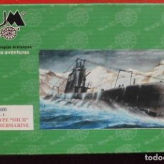Maquetas: S-1 SUBMARINO SOVIÉTICO. BUM ESCALA 1/400 MODELO NUEVO. Lote 205873587