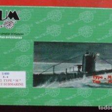 Maquetas: S-4 SUBMARINO SOVIÉTICO. BUM ESCALA 1/400 MODELO NUEVO. Lote 205874951
