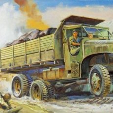 Maquetas: 1/72 HASEGAWA U.S. GMC CCKW-353 DUMP TRUCK. Lote 206127317