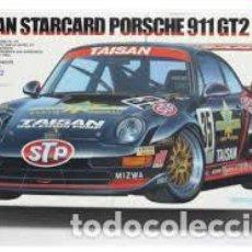 Maquetas: TAMIYA - TAISAN STARCARD PORSCHE 911 GT2 1/24 24175. Lote 206188737