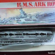 Maquetas: HMS ARK ROYAL PORTAVIONES BRITÁNICO. REVELL ESCALA 1/720 MODELO NUEVO. Lote 206189906