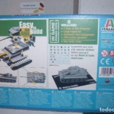 Maquetas: 34103 ITALERI 1/72 WWII GERMAN PZ KPFW VI TIGER I AUSF E 1 (FAST ASSEMBLY MODEL) E.L.1 TANK ONLY. Lote 206242548