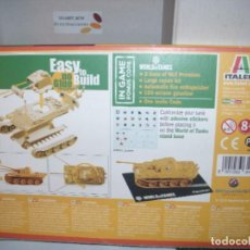 Maquetas: 34104 ITALERI 1/72 WWII GERMAN PZ KPFW V AUSF G ( 1 FAST ASSEMBLY MODELS ) E.L.1 TANQUE. Lote 206242590