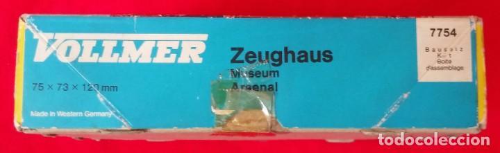 Maquetas: ZEUGHAUS, MUSEUM ARSENAL - MODELISMO - VOLLMER- RF. 7754 - PJRB - Foto 2 - 206291916