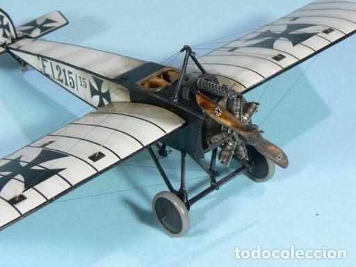Maquetas: PFALZ E.I 1:48 GAVIA maqueta avión WWI - Foto 4 - 206337455