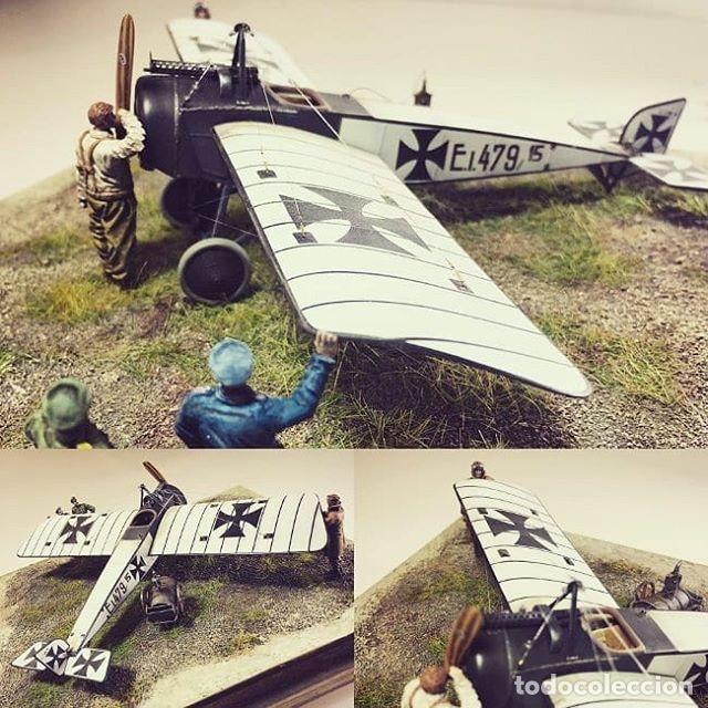 Maquetas: PFALZ E.I 1:48 GAVIA maqueta avión WWI - Foto 12 - 206337455