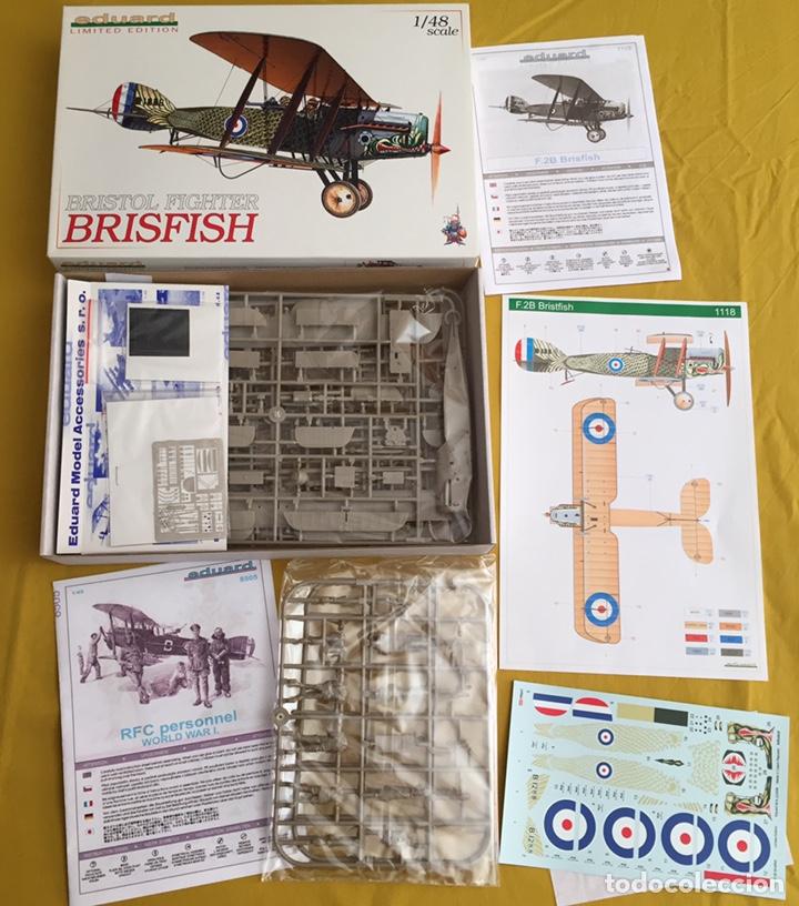 """Maquetas: BRISTOL FIGHTER F2B """"BRISFISH"""" (Edición con figuras) 1:48 EDUARD 1118 maqueta avión edición limitada - Foto 2 - 206339342"""