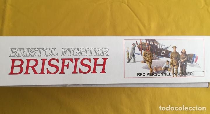 """Maquetas: BRISTOL FIGHTER F2B """"BRISFISH"""" (Edición con figuras) 1:48 EDUARD 1118 maqueta avión edición limitada - Foto 3 - 206339342"""