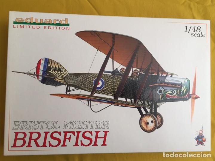 """Maquetas: BRISTOL FIGHTER F2B """"BRISFISH"""" (Edición con figuras) 1:48 EDUARD 1118 maqueta avión edición limitada - Foto 4 - 206339342"""