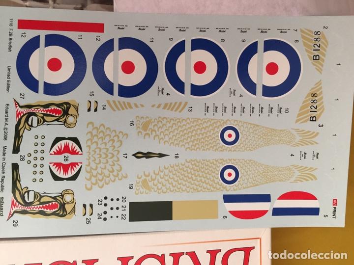 """Maquetas: BRISTOL FIGHTER F2B """"BRISFISH"""" (Edición con figuras) 1:48 EDUARD 1118 maqueta avión edición limitada - Foto 7 - 206339342"""
