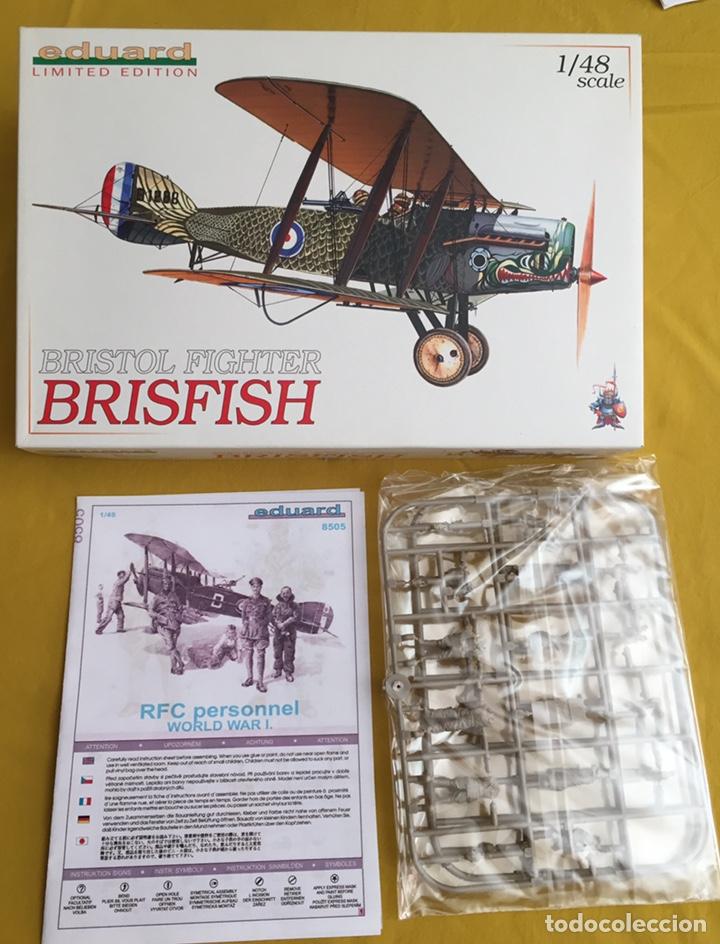 """BRISTOL FIGHTER F2B """"BRISFISH"""" (EDICIÓN CON FIGURAS) 1:48 EDUARD 1118 MAQUETA AVIÓN EDICIÓN LIMITADA (Juguetes - Modelismo y Radio Control - Maquetas - Aviones y Helicópteros)"""