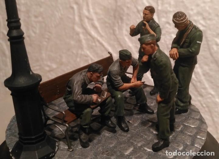 Maquetas: Diorama 1/35 montado y pintado con detalles - Foto 3 - 206358136