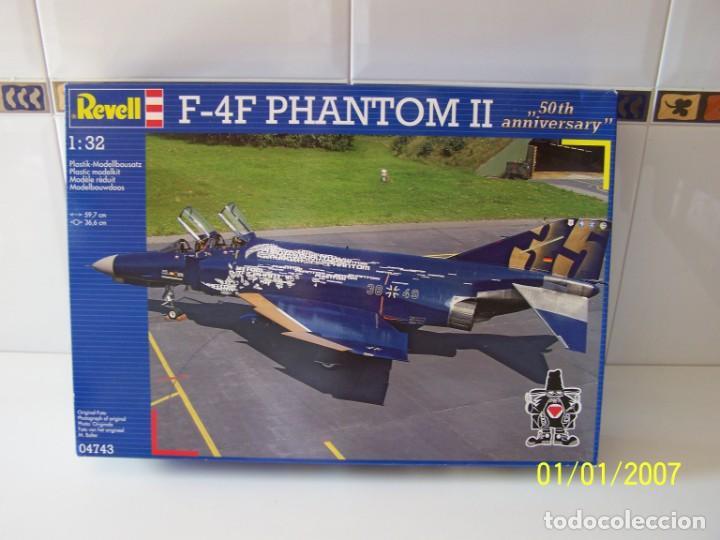 F4-F PHANTOM II REVELL ESCALA 1/32 (Juguetes - Modelismo y Radio Control - Maquetas - Aviones y Helicópteros)