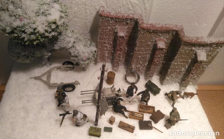 Maquetas: Diorama tropas soviéticas 1/35 montado y pintado - Foto 2 - 206396098