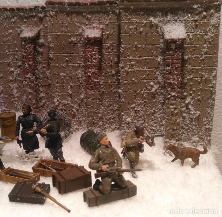 Maquetas: Diorama tropas soviéticas 1/35 montado y pintado - Foto 3 - 206396098