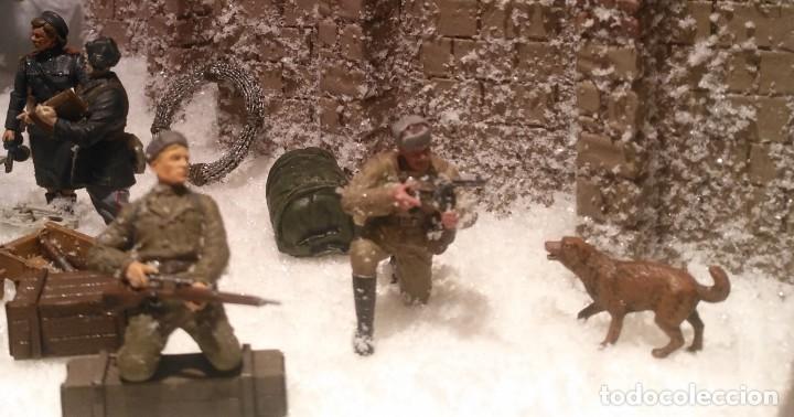 Maquetas: Diorama tropas soviéticas 1/35 montado y pintado - Foto 4 - 206396098