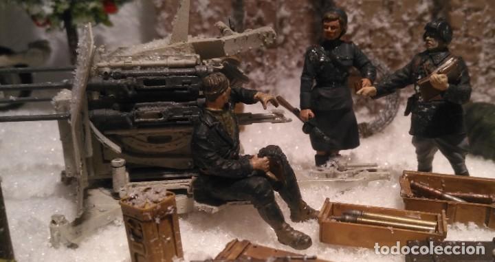 Maquetas: Diorama tropas soviéticas 1/35 montado y pintado - Foto 5 - 206396098