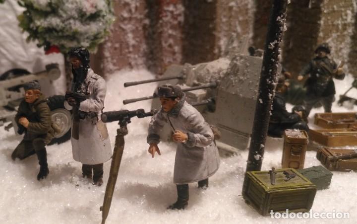 Maquetas: Diorama tropas soviéticas 1/35 montado y pintado - Foto 6 - 206396098