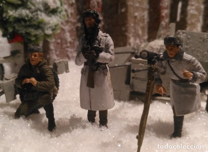 Maquetas: Diorama tropas soviéticas 1/35 montado y pintado - Foto 7 - 206396098