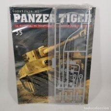 Maquetas: CONSTRUYE EL PANZER TIGER - COLECCIÓN SALVAT - 35 - LA HISTORIA, EL DESARROLLO Y EL MODELO - NUEVO. Lote 206563427