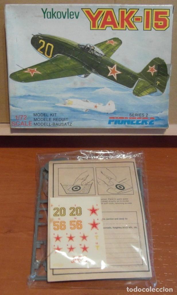 PIONEER 2 - YAKOVLEV YAK-15 1/72 (Juguetes - Modelismo y Radio Control - Maquetas - Aviones y Helicópteros)