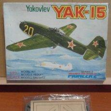 Maquetas: PIONEER 2 - YAKOVLEV YAK-15 1/72. Lote 206787205
