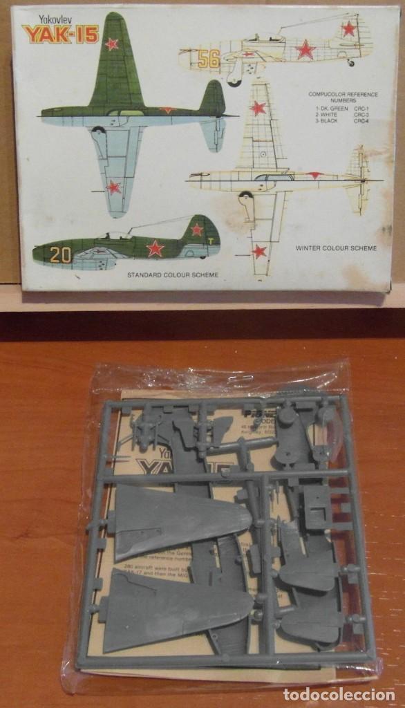 Maquetas: Pioneer 2 - Yakovlev Yak-15 1/72 - Foto 2 - 206787205