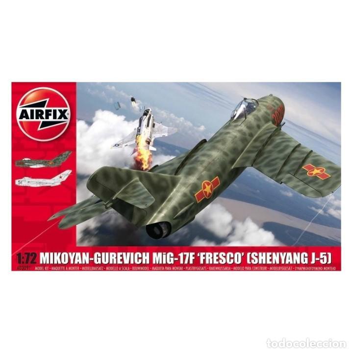 AIRFIX A03091 # MIKOYAN-GUREVICH MIG-17 FRESCO 1:72 (Juguetes - Modelismo y Radio Control - Maquetas - Aviones y Helicópteros)