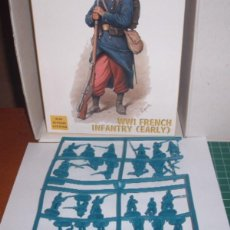 Maquetas: 8148 HAT 1/72 FRENCH INFANTRY EARLY ( 1 SPRUE / 1 PLANCHA ). Lote 206875595