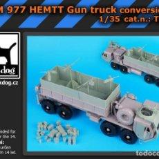 Maquetas: CONVERSION M 977 HEMTTGUN TRUCK 1:35 BLACK-DOG T35071. Lote 206949818