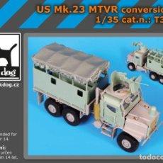 Maquetas: CONVERSION US MK.23 MTVR 1:35 BLACK-DOG T35126. Lote 206950053