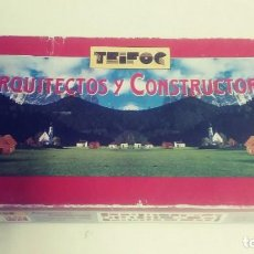 Maquetas: ARQUITECTOS Y CONSTRUCTORES TEIFOC. Lote 206973000