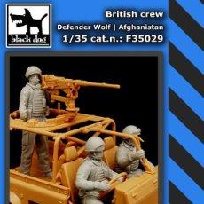 Maquetas: BRITISH CREW DEFENDER WOLF AFGHANISTAN 1:35 BLACK DOG F35029. Lote 207043572