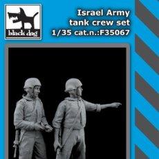 Maquetas: ISRAEL ARMY TANK CREW SET 1:35 BLACK DOG F35067. Lote 207043651