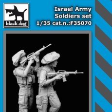 Maquetas: ISRAEL ARMY SOLDIERS SET 1:35 BLACK DOG F35070. Lote 207043675