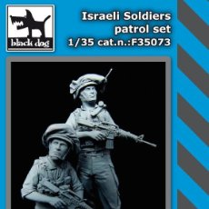 Maquetas: ISRAEL SOLDIERS PATROL SET 1:35 BLACK DOG F35073. Lote 207043696