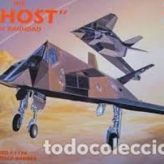 """Maquettes: F-117A STEALTH FIGHTER (THE """"GHOST"""" OF BAGHDAD), ACADEMY NR. 2107. Lote 207100935"""